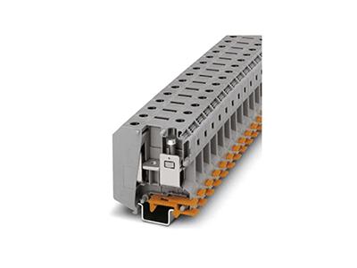 轨道式接线端子使用需要哪些配件
